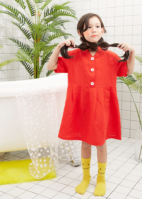CHERRY ONEPIECE RED